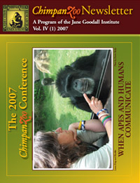 Chimpanzoo 2007 Newsletter